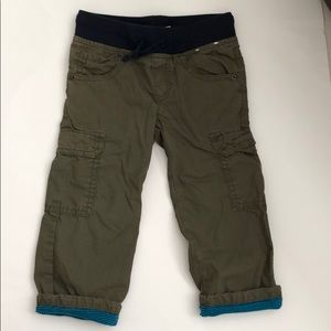 Gymboree Functional Drawstring Cargo Lined Pants